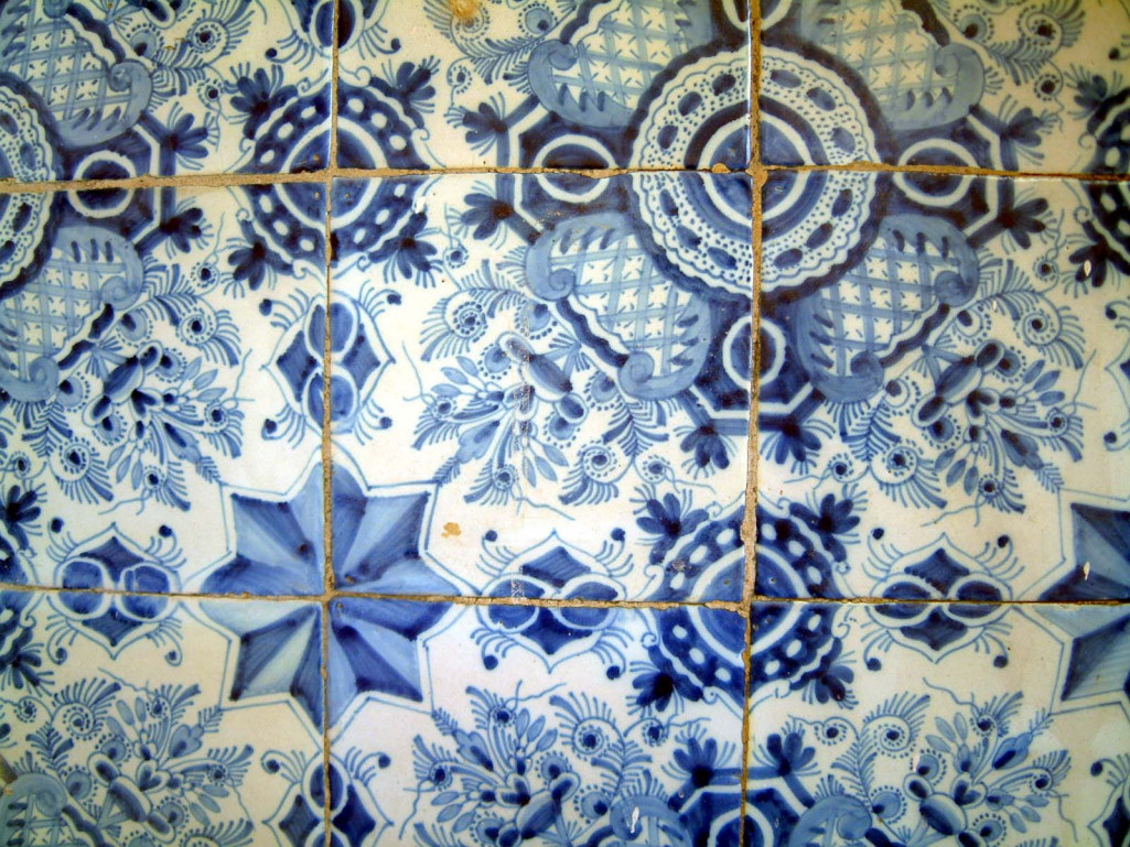 18th Century Delft Tiles The Jackfield Conservation Studio