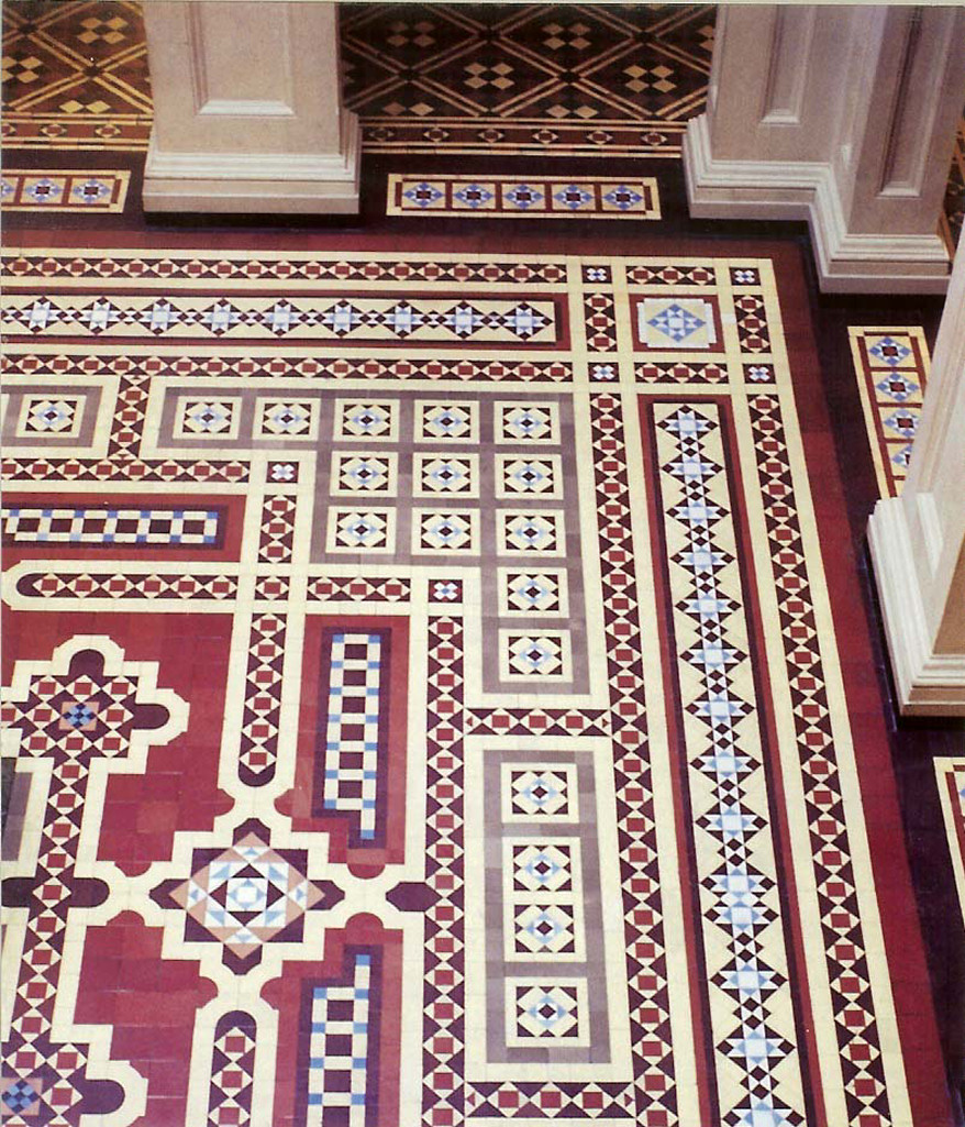 victorian floor tile designs