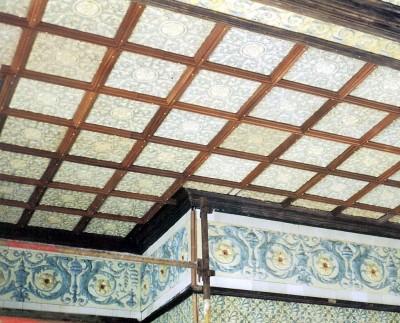 Re instatement of ceramic ceiling at 1 Botchergate, Carlisle.